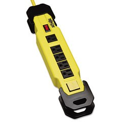 Power It! Safety Power Strip, 6 Outlets, 9 ft. Cord and Clip, GFCI Plug
