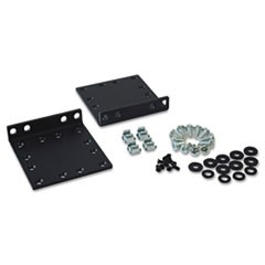 Heavy-Duty 2-Post Front Mounting Ear Kit, Supports 2U Cabinets, 65 lbs Capacity