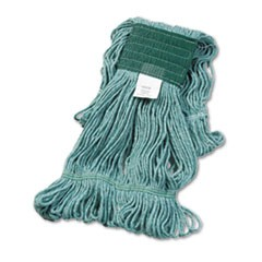 MED SUPER LOOP MOP HEAD, GREEN 502
