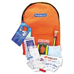 Emergency Preparedness First Aid Backpack, 43 Pieces/Kit