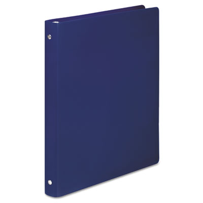 ACCOHIDE Poly Round Ring Binder, 23-pt. Cover, 1/2