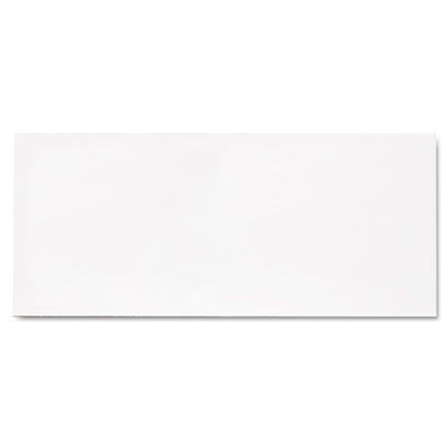 Grip-Seal Security Tint Business Envelope, #10, 4 1/8 x 9 1/2, White, 45/Box