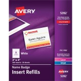 Avery® Name Badge Insert Refills