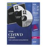 Avery® CD Labels with 200 Spine Labels