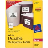 Avery® Permanent Durable ID Labels, TrueBlock(R), 5