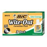 BIC Extra-Coverage Wite-Out Brand Correction Fluid