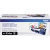 Brother Genuine TN310BK Black Toner Cartridge