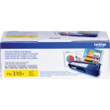 Brother Genuine TN310Y Yellow Toner Cartridge