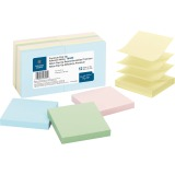 Business Source Reposition Pop-up Adhesive Notes