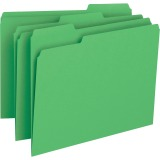 Business Source Color-coding 1-Ply File Folders