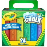 24 ct. Sidewalk Chalk, w/Tropical Colors
