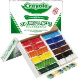 Crayola 240 Count Colored Pencils Classpack - 12 colors
