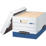 Bankers Box R-Kive® - Letter/Legal, White/Blue