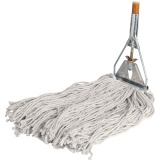 Genuine Joe Wood Handle Complete Wet Mop