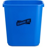 Genuine Joe 28-1/2qt Recycle Wastebasket
