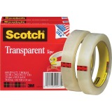 "Scotch Transparent Tape - 3/4""W"