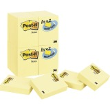 "Post-it® Notes Value Pack, 1.5"" x 2"" Canary Yellow"