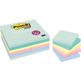 "Post-it® Notes Value Pack, 3"" x 3"" Marseille Colors"