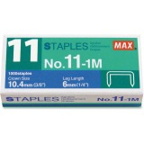 MAX No. 11-1M Staples