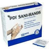 Sani-Hands ALC Individual Wipes, 100 / Box