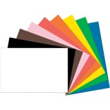 "Tru-Ray Construction Paper, Standard Assorted, 24"" x 36"", 50 Sheets"