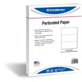 PrintWorks Professional Pre-Perforated Paper for Invoices, Statements, Gift Certificates & More
