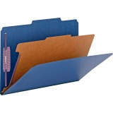 Smead SafeSHIELD Fastener 1-Divider Classification Folders