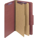 Smead Plain 2/5 Tab 2-divider Classification Folders