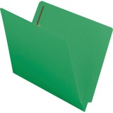 Smead End Tab Colored Fastener Folders with Shelf-Master® Reinforced Tab