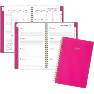 At-A-Glance Cambridge Color Bar Small Planner