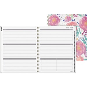 At-A-Glance In Bloom Academic Large Planner