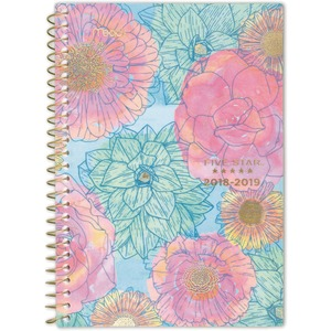 At-A-Glance In Bloom Academic Weekly/Monthly Planner