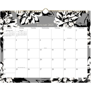 At-A-Glance Amelia Monthly Wall Calendar