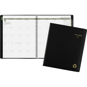 At-A-Glance 100% PCW Monthly Planner