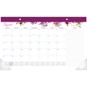 At-A-Glance June Academic Compact Monthly Desk Pad