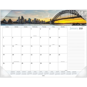 At-A-Glance Harbor Views Monthly Desk Pad