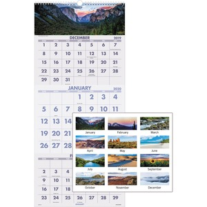 At-A-Glance Scenic Design 3-month Wall Calendar