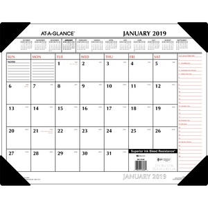 At-A-Glance Monthly Desk Pad