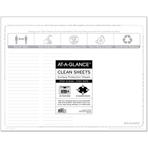 At-A-Glance Disposable Clean Sheets
