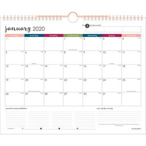 At-A-Glance Harmony Wall Calendar
