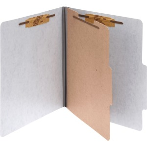 Acco Presstex 2/5 Tab Cut Letter Classification Folder