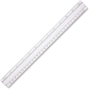"Acme United 12"" Clear Magnifying Ruler"