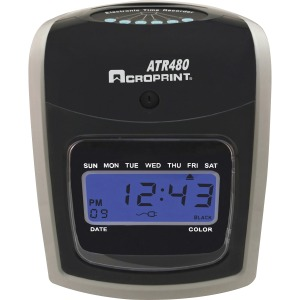 Acroprint ATR480 Totalizing Time Clock Bundle
