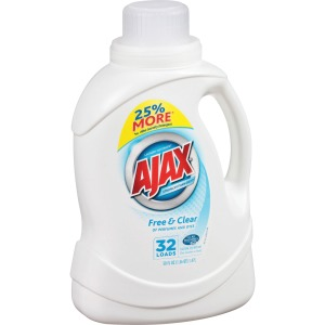 AJAX Free/Clear Liquid Laundry Detergent