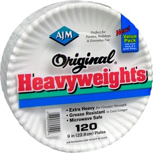 AJM Packaging Original Heavyweights Plates