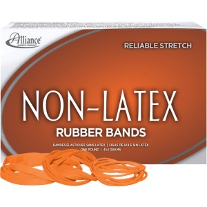 Alliance Rubber 37546 Non-Latex Rubber Bands - Assorted sizes (#54)