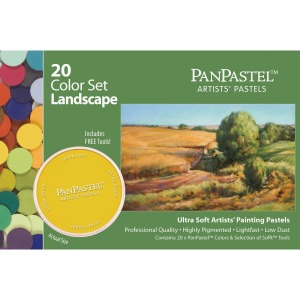 Armadillo Arts & Craft 20-color Landscaping Colors Pastels