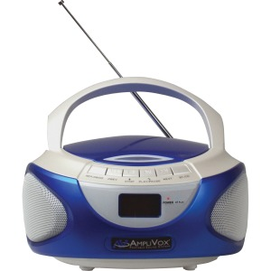 AmpliVox CD Boombox with Bluetooth