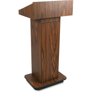 AmpliVox W505 - Executive Non-sound Column Lectern