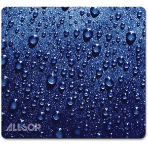 Allsop NatureSmart Image Mousepad - Soft Top Raindrop, Blue - (30182)